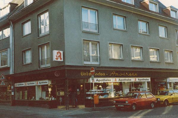 Unterlinden Apotheke 1984